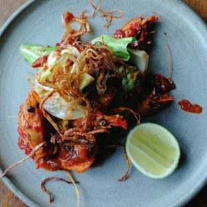 Fresh Prawn recipes by Ottolenghi Chef Calvin Von Neibel